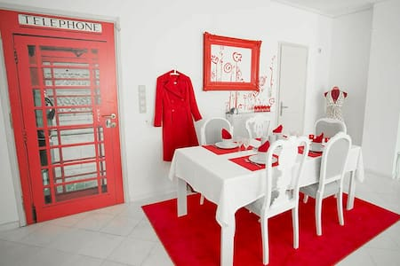 Gorgeously designed apartment - Petroupoli - Apartament