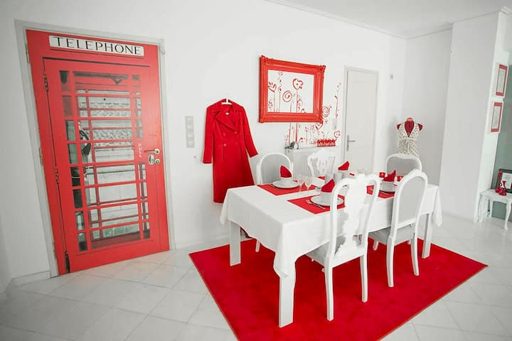 Gorgeously designed apartment
