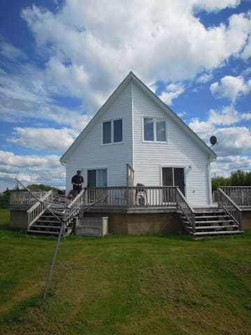 Ocean front cottage near beach - Beaubassin East - Cabane