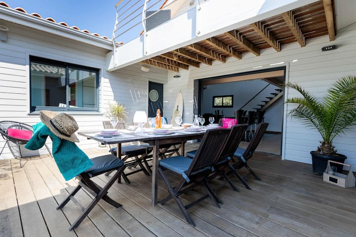 Maison esprit Californie Hourtin-plage, 50 m océan