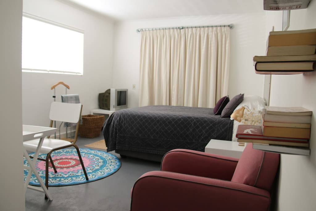 Comfortable, secure bedroom with your own safe