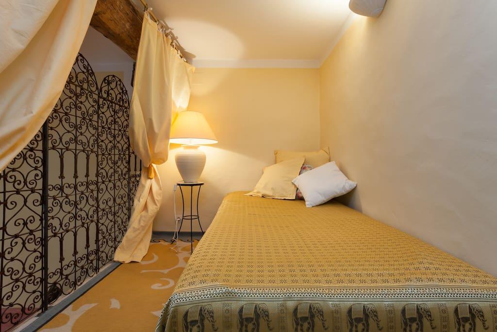 La mezzanine, pour lire, se reposer ou rêver!!