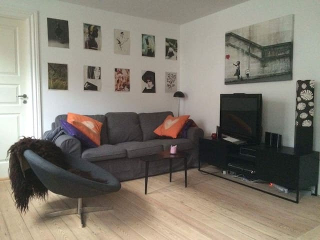 Central 2 bedroom apartment close to Aros - Aarhus