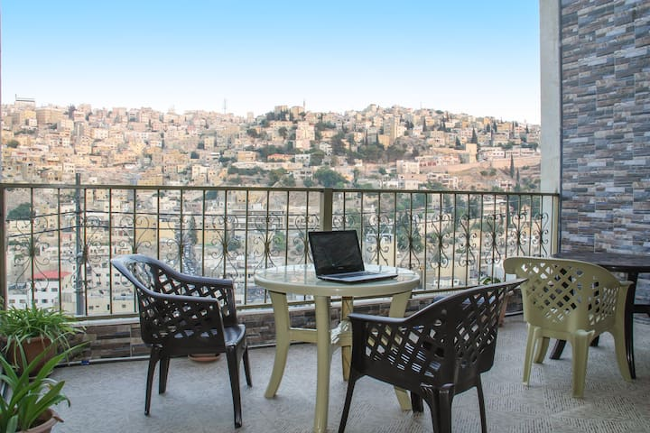 (Full Apt)The Khirfan Crown House. - Amman - Apartamento