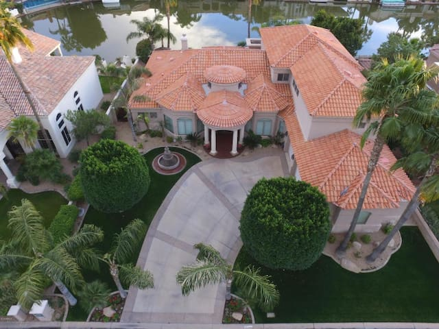 Waterfront gated Executive LUXURY estate Paradise!