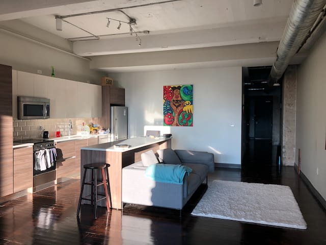 Large Artistic Loft Space with a View
