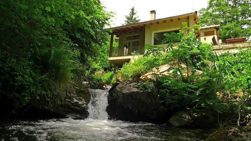 The River View House Nohèdes - Nohèdes - Ev