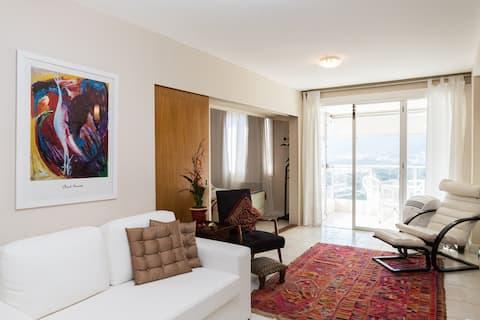 Hermoso apartamento en el corazón de Leblon