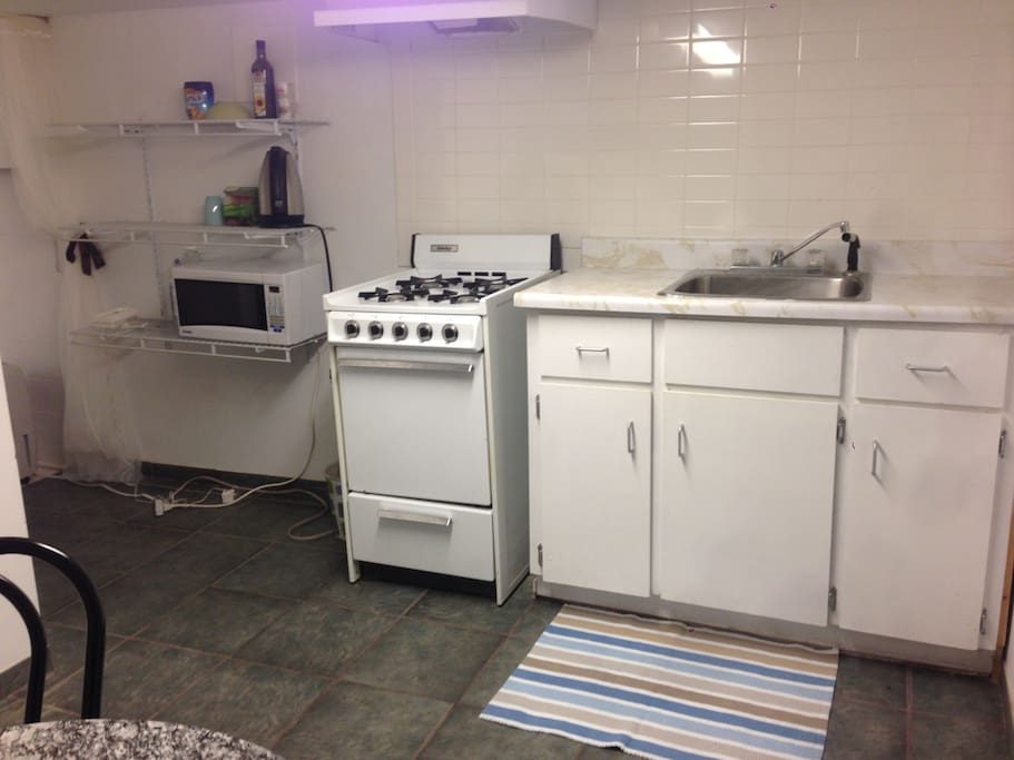 private kitchen for preparing simple meals