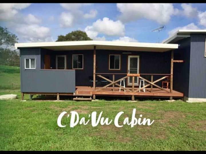 C'Da Vu Cabin/fire pit/sunsets/stars/rural view