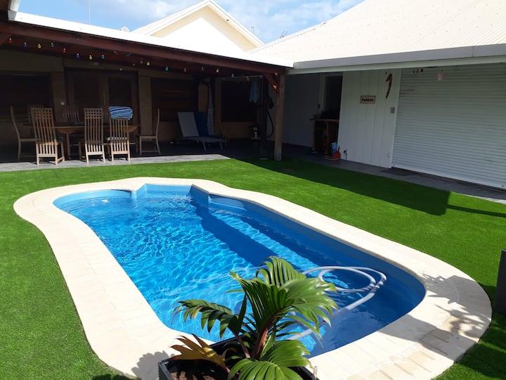 Villa tout confort bord de mer, 8 couchages