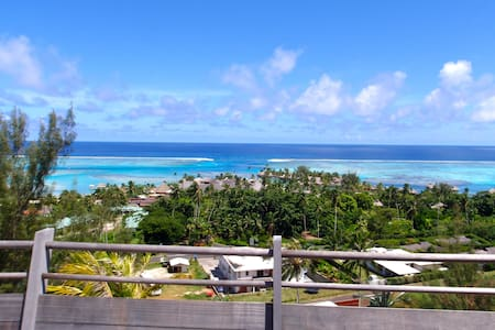Beautiful Hillside Villa with View - Ha'apiti - Vila