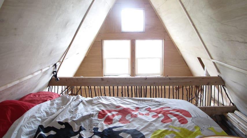Rustic Cabin on Twin Lake - Houston - Houten huisje