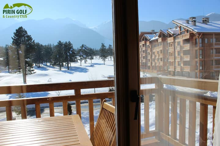 Chalet Style One-bedroom Pirin Golf & Country Club