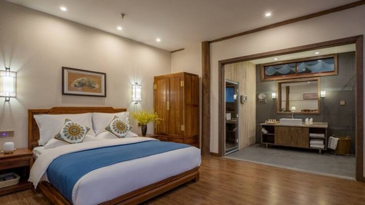 Qinyuan Qingshe Holiday Inn Steaming suite