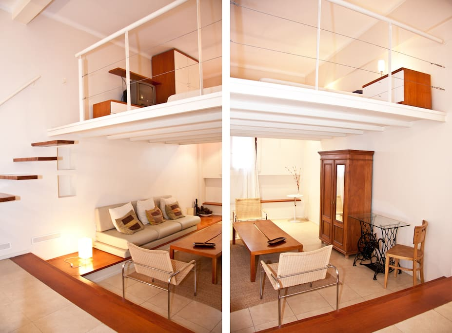 Tipo loft c entrepiso en palermo departamentos en alquiler en buenos aires ciudad aut noma de - Mezzanine foto ...