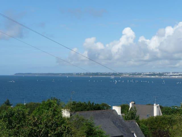 T2 vue et mer à 200m  (7 jours min) - Plougastel-Daoulas - Apartemen