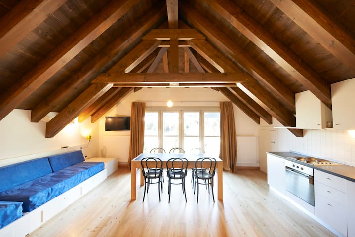Wonderful attic flat in Carnia!