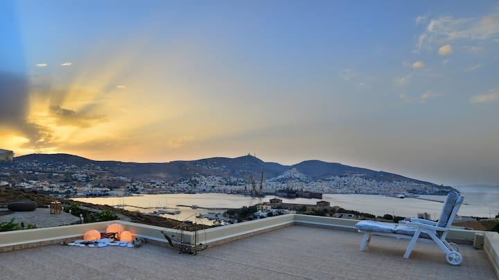 Fantasia Apartment near Ermoupolis Syros Ermoupoli