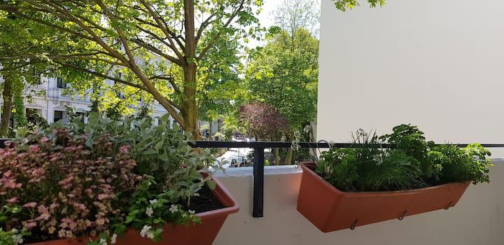"""Top-Lage Wohnung mit Balkon im """"Viertel"""""""