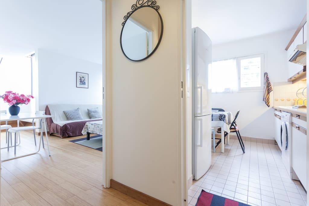 Bel appartement paris 13 me apartments for rent in paris for Appartement avec piscine paris