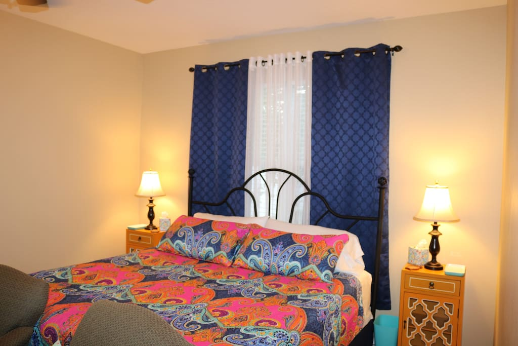 Spacious and inviting guest suite