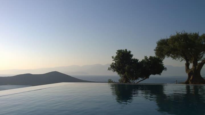 Elounda Villa  - amazing view of Spinalonga