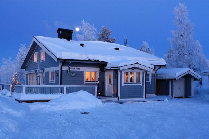 Romantic Wintercottage in Kläppen - Transtrand - Casa