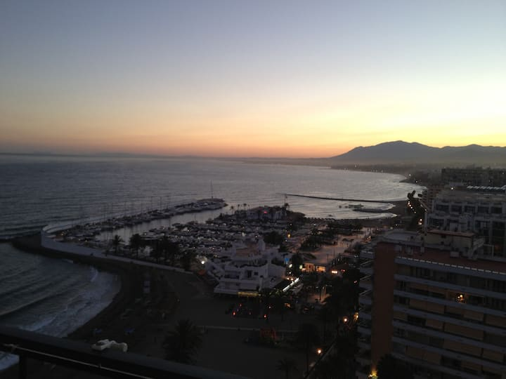 Enjoy the best view in Marbella!