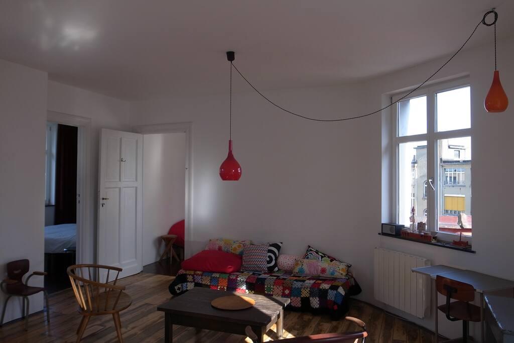 séjour versus chambres