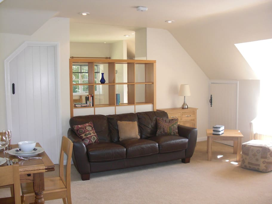 bright, spacious and very comfortable living area