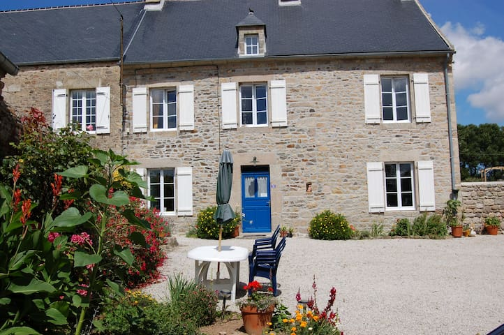 Farmhouse 6 minutes from the sea - Anneville-en-Saire - Huis