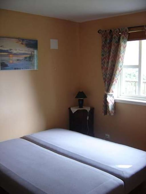 Double bedroom, can be made in two single beds
