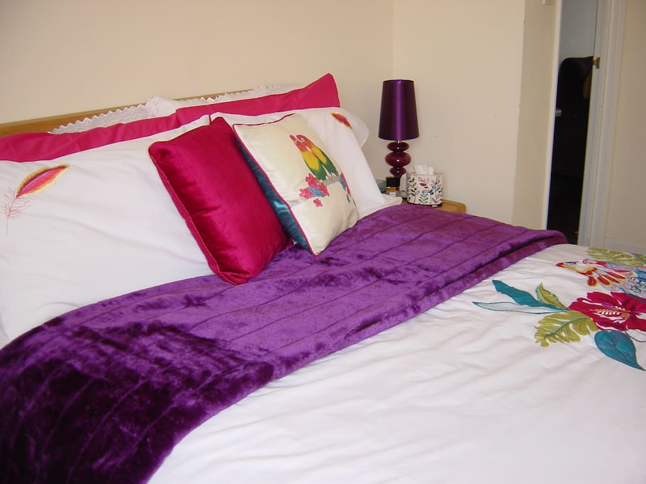 Main bedroom has very comfortable double bed