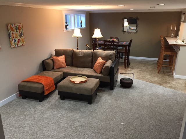 Spacious basement apt including washer/dryer - Spokane - Apartment