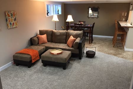 Spacious basement apt including washer/dryer - Spokane