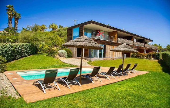 Superbe T2 avec piscine et vue mer à Porticcio