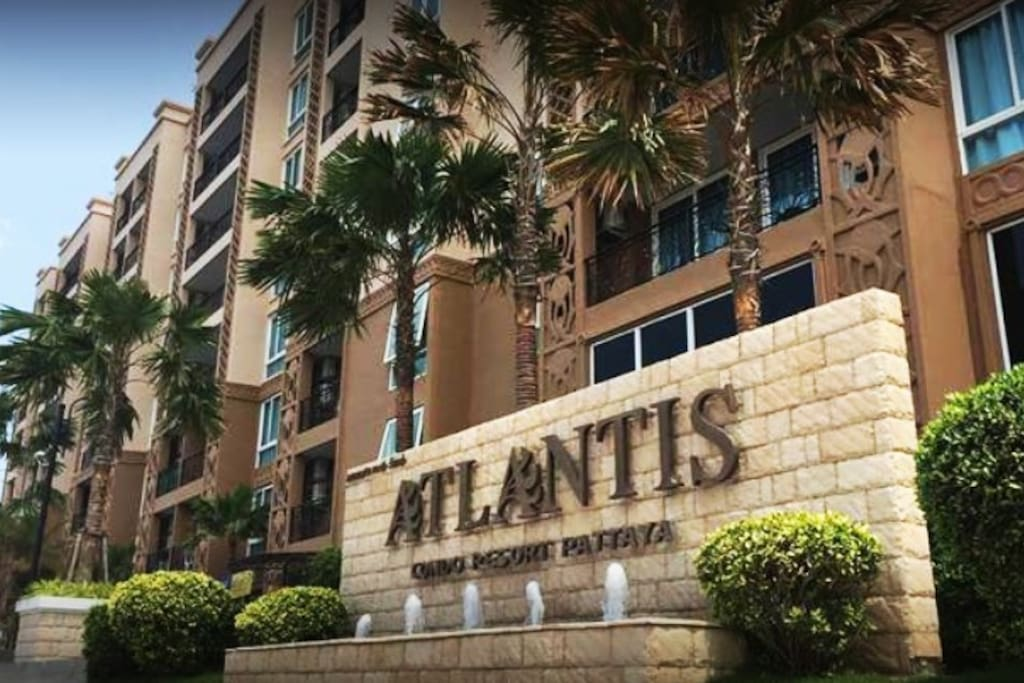 Atlantis Condo Pattaya - Front view1