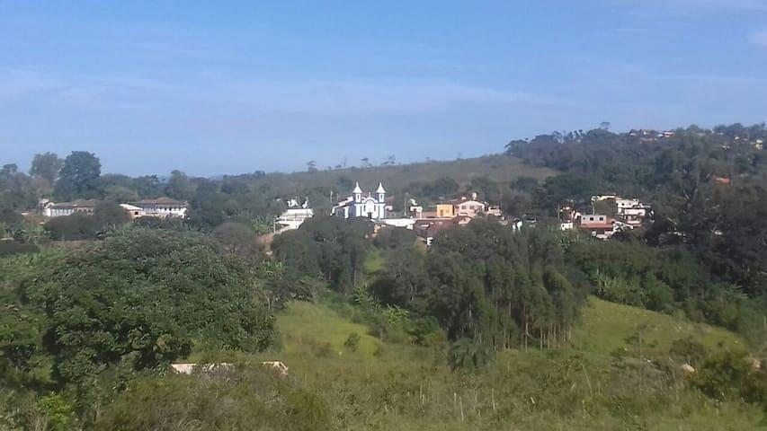 Hostel Trilhapé em Santo Antônio do Leite-MG