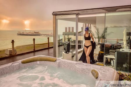 Frontline Seaview Penthouse+HOT TUB - Brighton - Apartmen