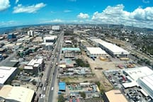 Robinsons Galleria and Downtown view from Roofdeck