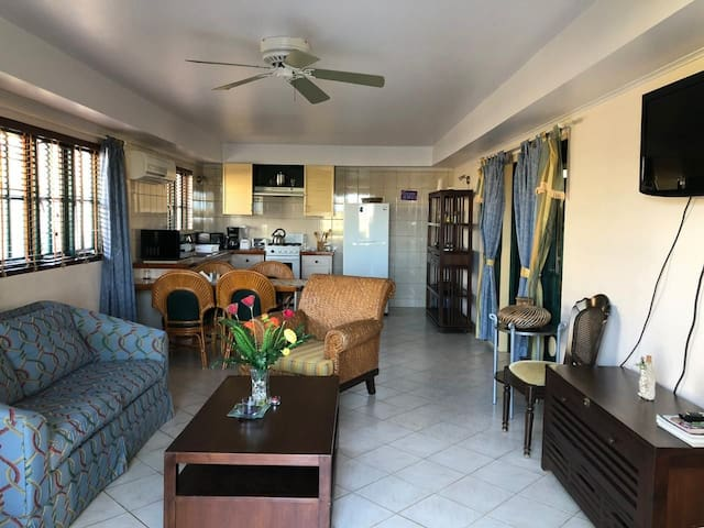 nice apartment near to the hotel area,5 min beach