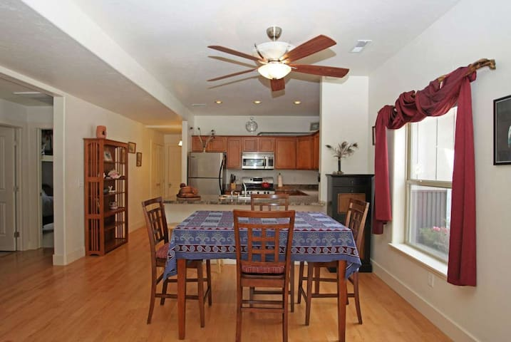 Single Level Condo - Across from the River - Short Distance to Downtown
