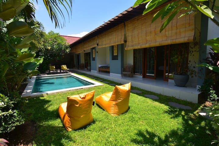 Peaceful & Cosy Villa close to the beach