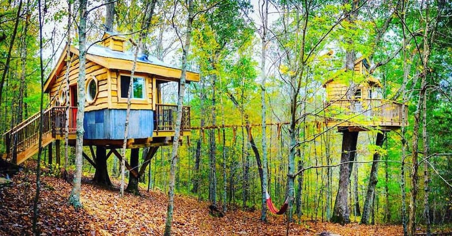 """""""ALIYAH"""" TREEHOUSE""""Off the grid+hiking adventures"""