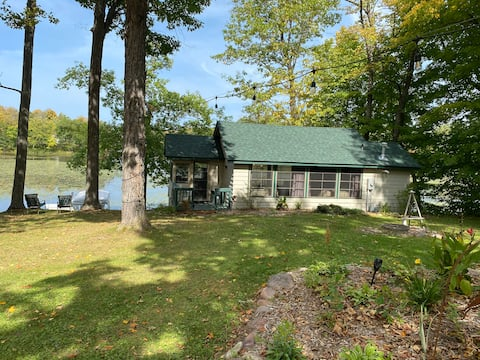 NEW LISTING!  Lakefront Cabin with great views!