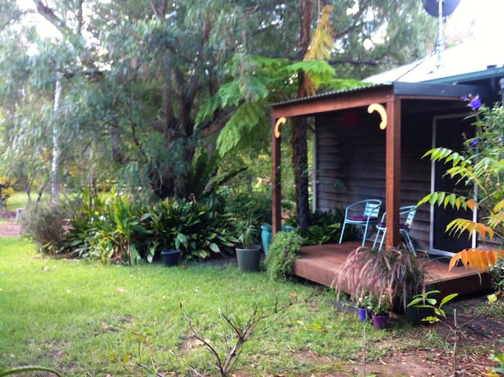 Central, private entrance, and bathroom, lockable