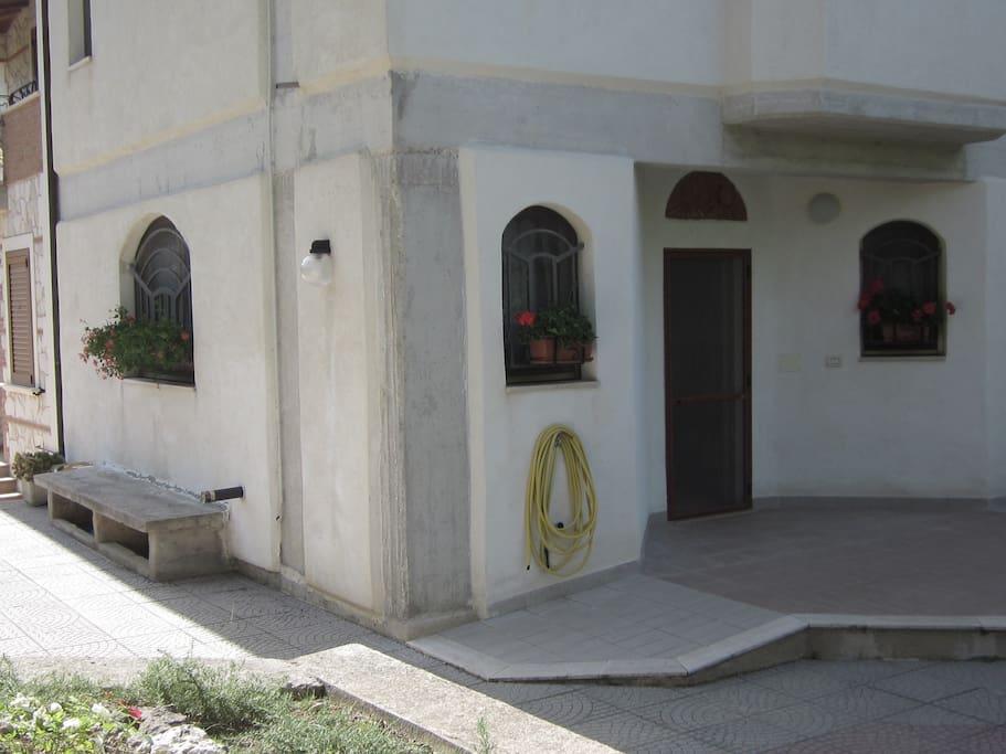 First floor exterior