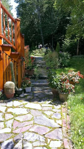 Environnement paisible au coeur d'un jardin - Saint-Jean-Port-Joli, Quebec - Apartamento