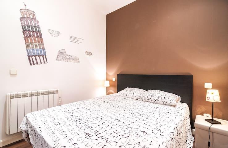Appartement Malasaña, 4 pers, 35 m2 1 CH, 1 SB